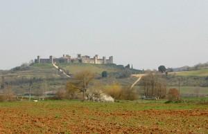 Monteriggioni Toskania