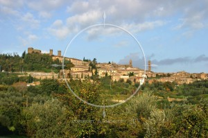 Montalcino Toskania