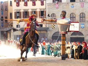 "Turniej w Arezzo ""Giostra del Saracino"" - Toskania"