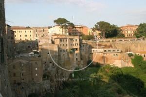 Pitigliano Toskania