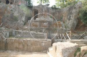 Nekropolia Etruska - Sovana - Toskania